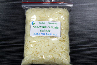 Pale Yellow Smooth Hot - Soluble Softener Flakes FAR For Dyeing House