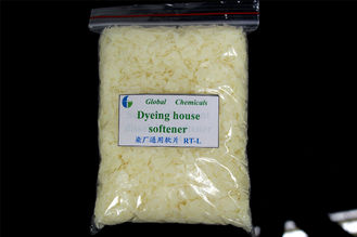 Low Viscosity Cationic Fibers Softener Flakes RT - L For Dying House