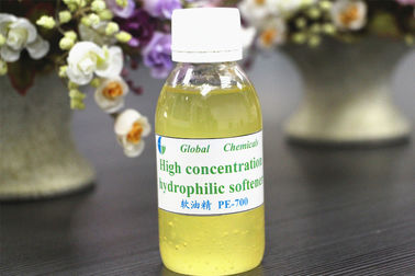 Weak Cationic High Concentration Hydrophilic  Softener PE - 700