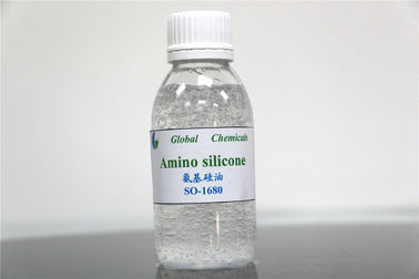 Textile Chemical Auxiliary Weak Cationic Amino Silicone Softener For Fabric