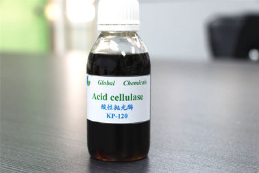 China High Concentration Acid Cellulase Enzyme , Biopolishing Enzyme For Textile Industry supplier