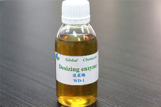 China High Desizing Efficiency Desizing Enzyme Textile Chemical  Amylase Brown Liquid supplier