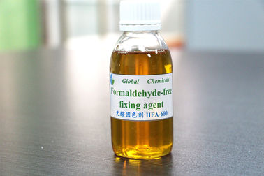 China Textile Chemicals and Auxiliaries / Formaldehyde - free Fixing Agent For Fixing Process supplier