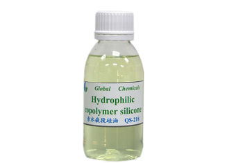 Hydrophilic Silicone Copolymer Especially For Plush Fabric Finishing QS-218