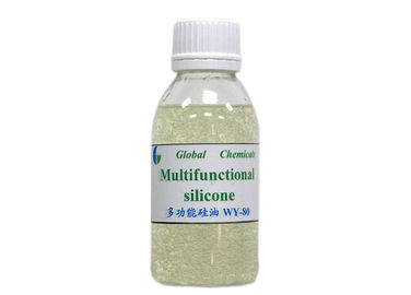 Multifunctional Amino Silicone Oil HWY - 80 For Dyeing House / Washing Plant