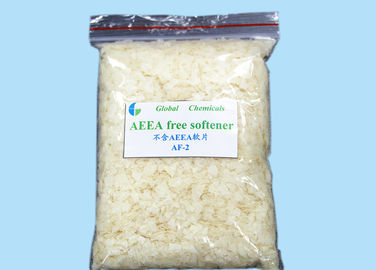 AEEA Free  Cationic Softener Flakes For Printing And Dyeing Factory