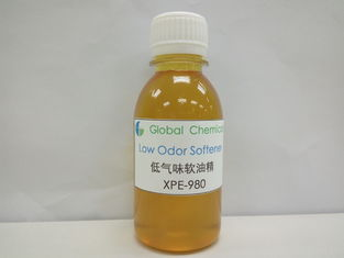 Yellow Liquid Textile Auxiliary Agent Low Odor Softener XPE-980