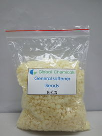 PH Value 3.0 Cationic Softener Flakes Softening Finishing To Fabric For Dyeing House And Washing Plants