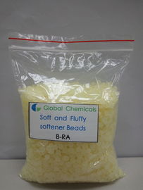Pale Yellow Antistatic Cold Water Softener Beads B-RA Textile Finishing Auxiliaries