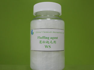 Textile Auxiliary Agent , Cationic Fluffing Agent WS For Natural / Synthetic Fibre