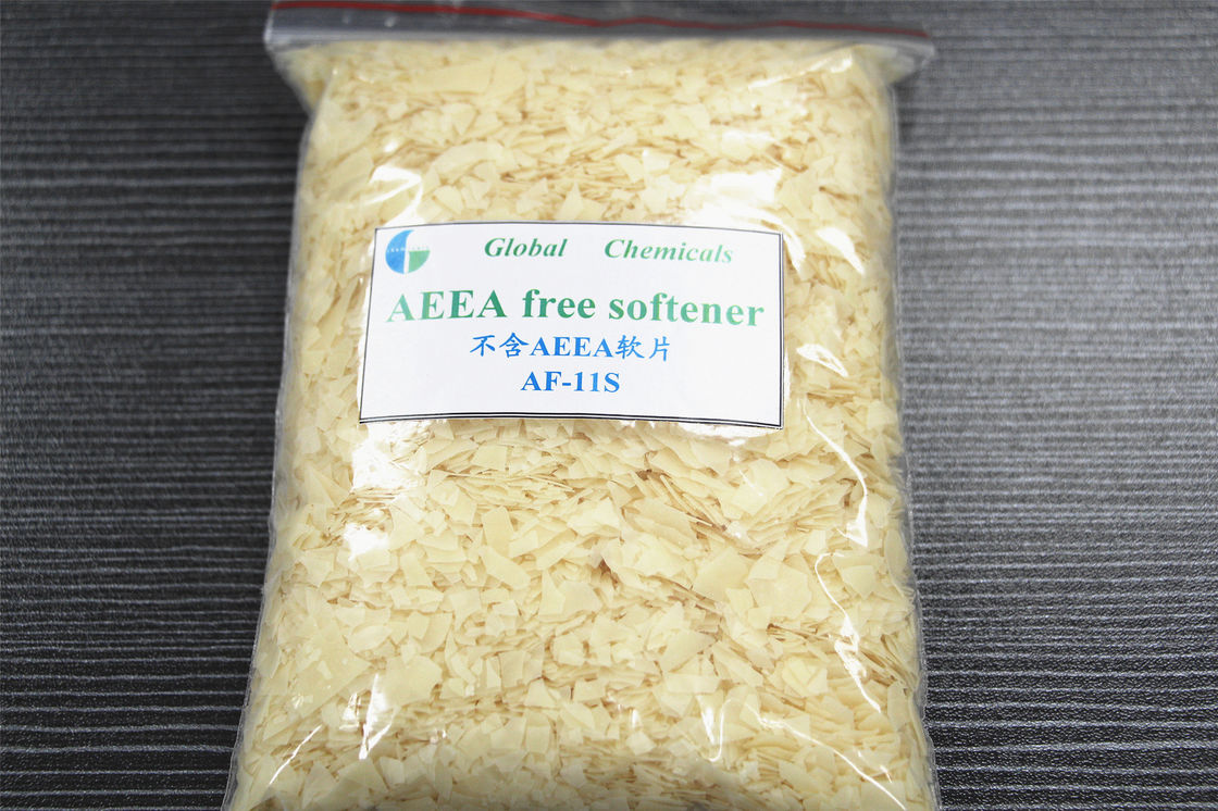 AEEA - Free Weak cationic softeners , cloth softener For Textile Industry