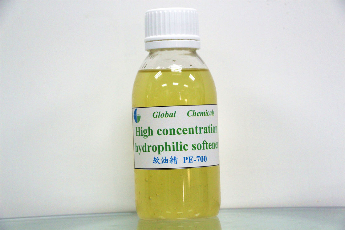 Textile Auxiliary Agent , Hydrophilic And Antistatic Finishing Of Fabric Hydrophilic Softener