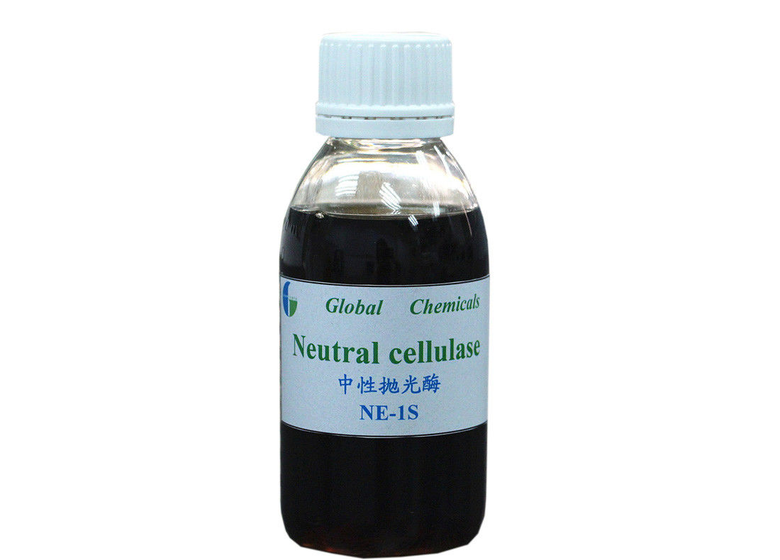 Yellow Brown Liquid Neutral Cellulase Enzyme NE - 1S For Biopolishing Conzyme