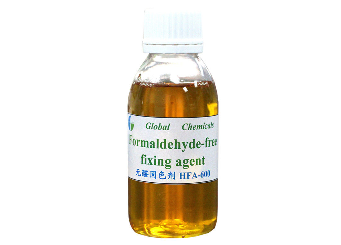 Textile Chemical Formaldehyde - Free Fixing Agent For Reactive Dyes / Direct Dyes