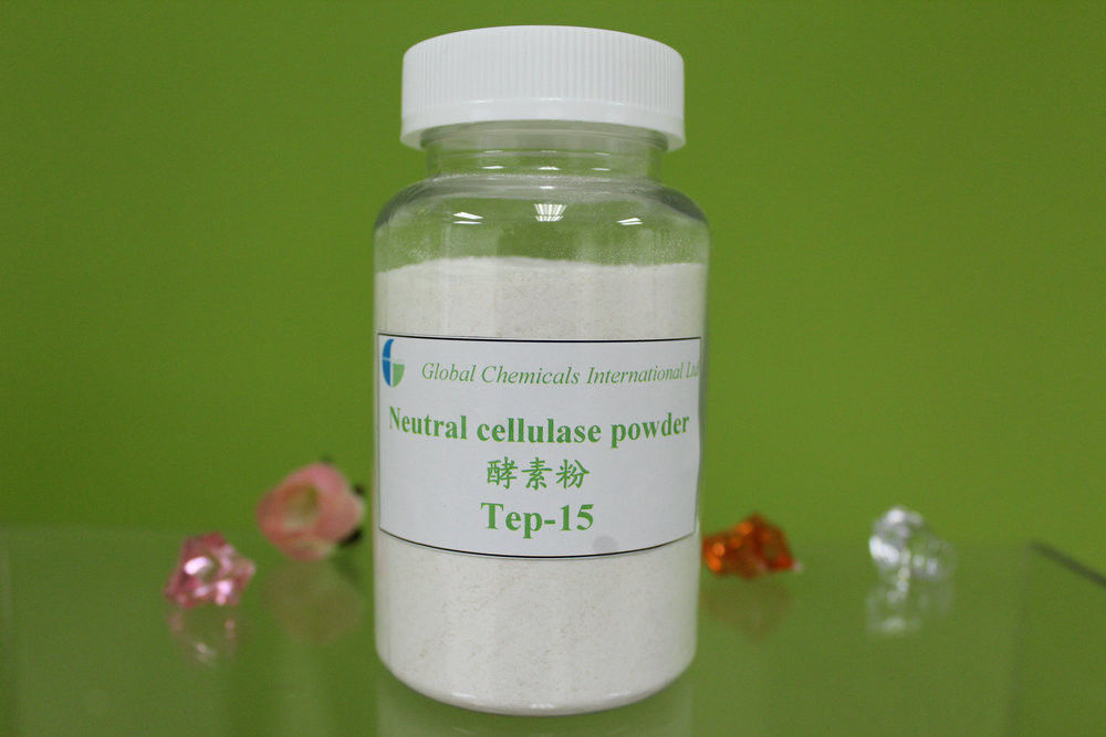 White Powder Neutral Cellulase Enzyme and Low Back-staining Textile
