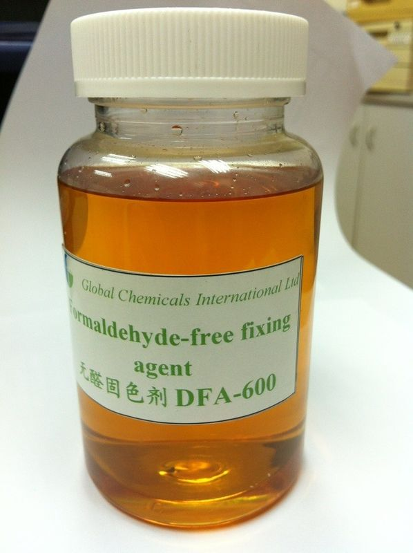 Pale Yellow Formaldehyde-Free Fixing Agent Cationic Liquid Polyamine Polymer