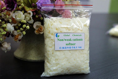 China Nonionic / Weak Catonic Fabric Softener Flakes NM Low Yellowing factory
