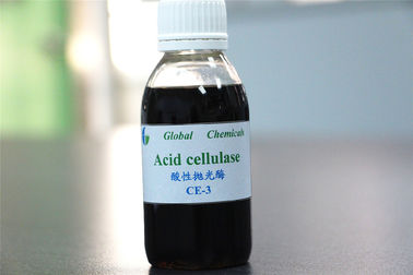 Textile Biopolishing Acid Cellulase Enzyme For Fabric Finishing Auxiliary