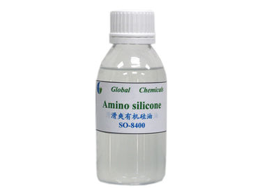China Smoothing Organic Softener Amino Silicone Oil SO - 8400 Series Amino Silicon factory