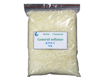 China Weak Cationic Softener Flakes Textile Pretreatment Chemicals With Soft Handle factory