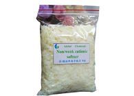 Hot Water Soluble Cationic Softener Flakes Fabric Pretreatment Chemicals