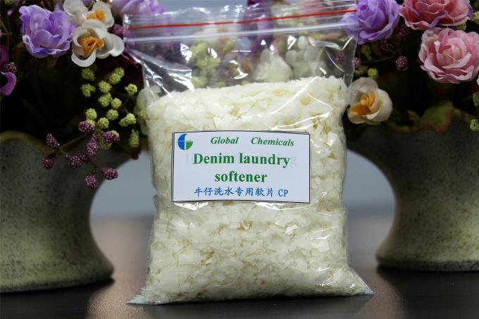 Cold Water Type Softener Flakes Organic Fatty Acid Compound Textile Chemical Auxiliary