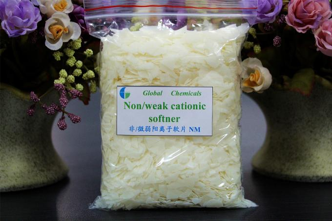 Hydrophilic And Antistatic Textile Finishing Nonionic Softener Flakes Hot Water Type